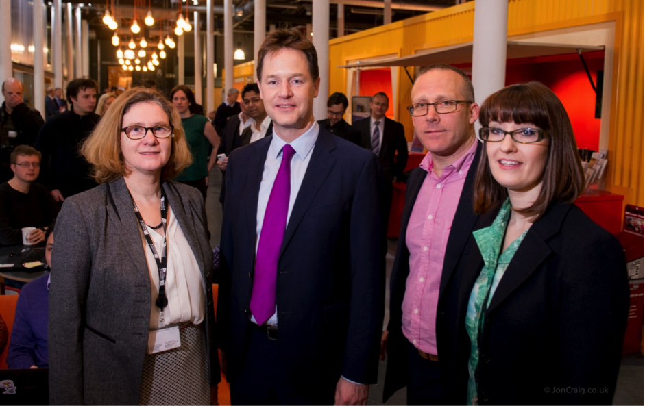 Bristol showcases local business innovation to the Deputy Prime Minister