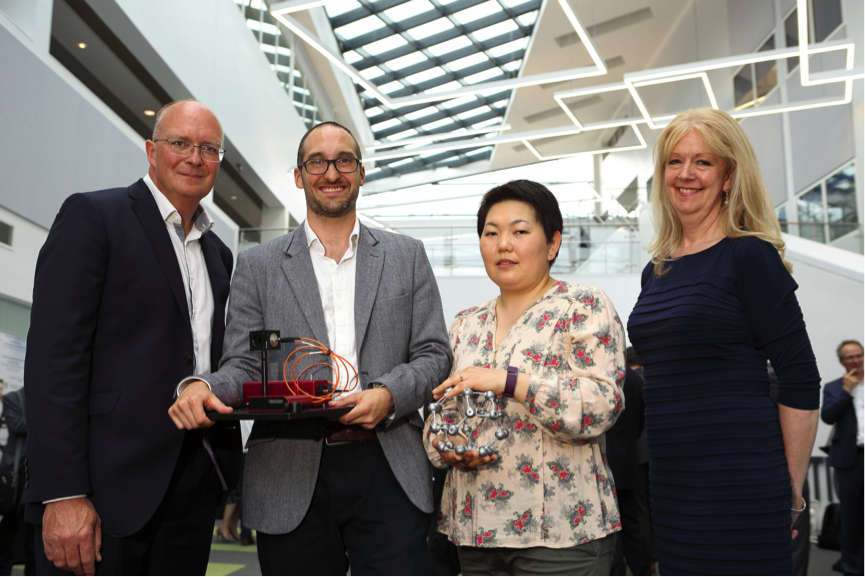 Health, digital and mobile start-ups showcased innovative tech to global corporates