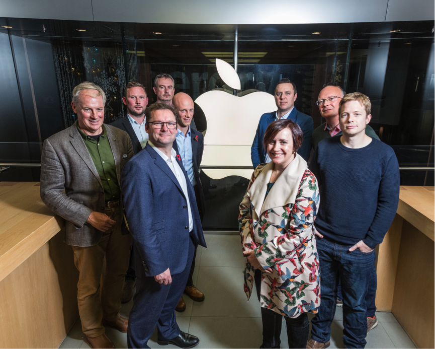 Apple hosts high-tech start-ups from Exeter, Bristol and Southampton