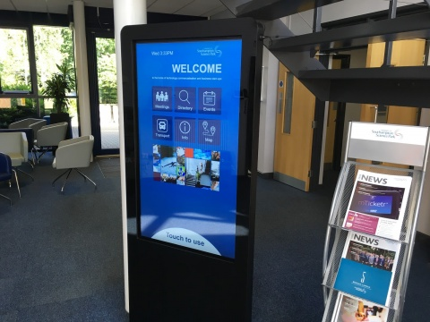 Digital wayfinding innovation at the University of Southampton Science Park