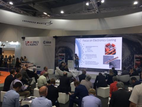 Tech innovators pitch to aerospace top guns at Farnborough International Airshow