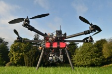 New outdoor drone will aid disaster response monitoring of radiation