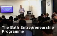 Bath Entrepreneurship Programme Launches with 2012 dates