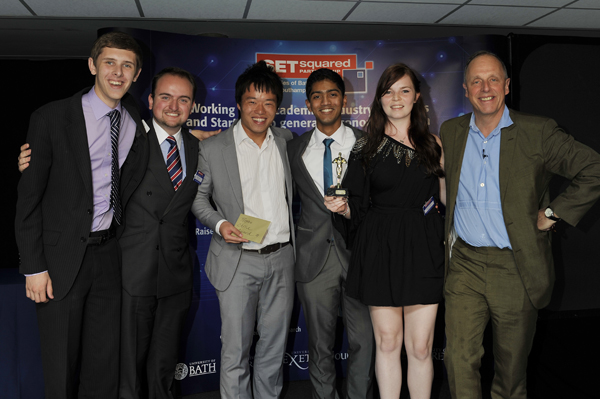 SETsquared announces winning student entrepreneurs for 2012