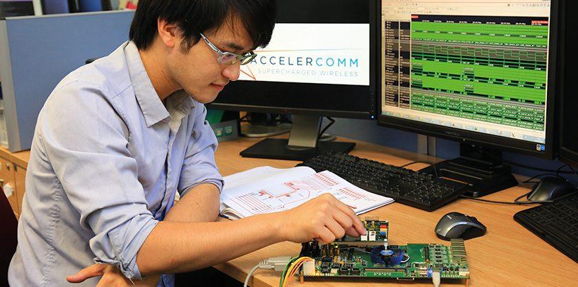 Accelercomm: Supercharging wireless technology