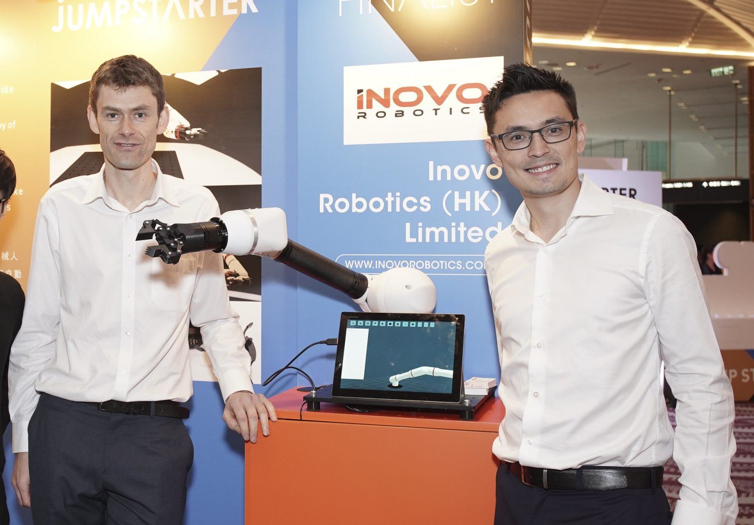 Inovo Robotics secures £1.5m investment from Williams F1 Team