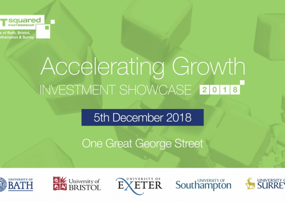 ACCELERATING GROWTH INVESTMENT SHOWCASE 2019