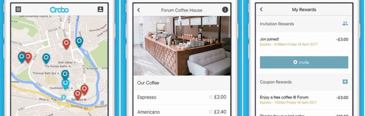Ordoo to launch mobile-ordering with leading UK transport franchise