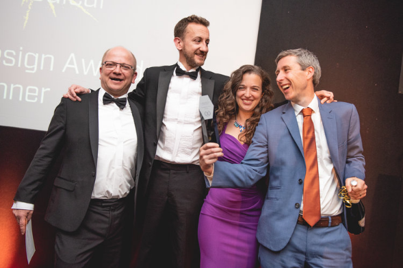 Ceryx Medical win BioDesign Award at the Launch: Great West Awards