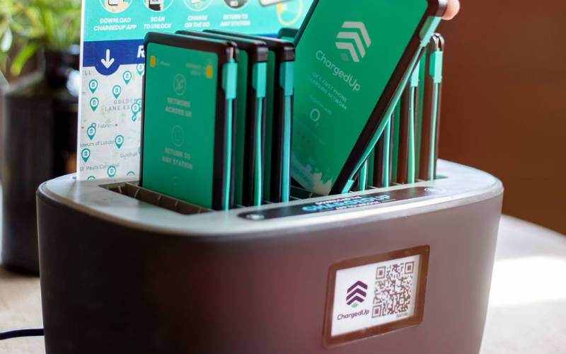 ChargedUp raises £2m to expand mobile charging network