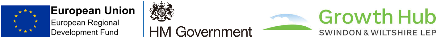 ERDF, HM Government and Growth Hub logos