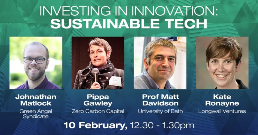 Investing in Innovation: Sustainable Technology