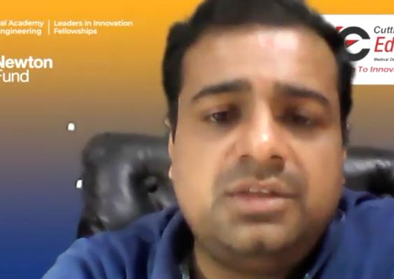 Dr Pankaj Parashar – Cutting Edge Medical Devices