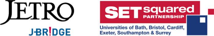 JETRO & SETsquared logos